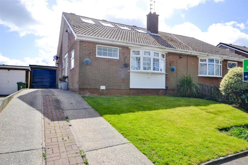 3 Bedrooms Semi Detached Bungalow for sale in Harperley Drive, Tunstall, Sunderland