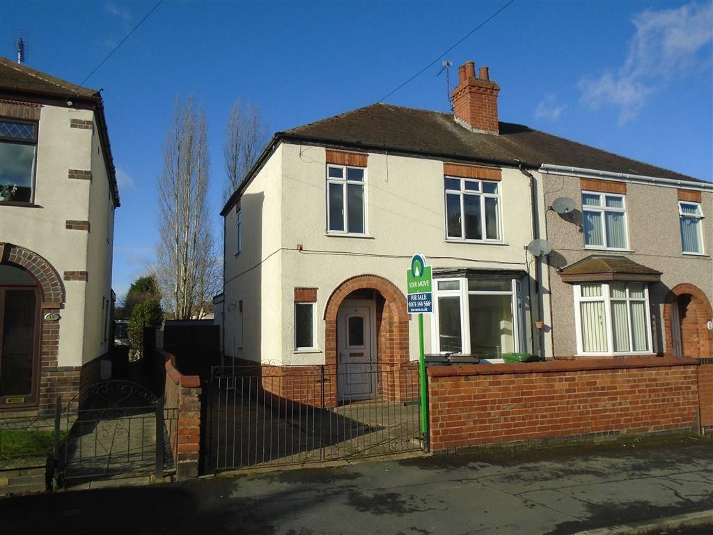 3 Bedrooms Semi Detached House for sale in Richmond Road, Nuneaton, Warwickshire, CV11
