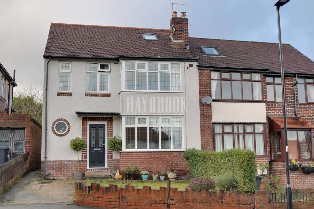 4 Bedrooms Semi Detached House for sale in High Storrs Rise, High Storrs, S11 7LB