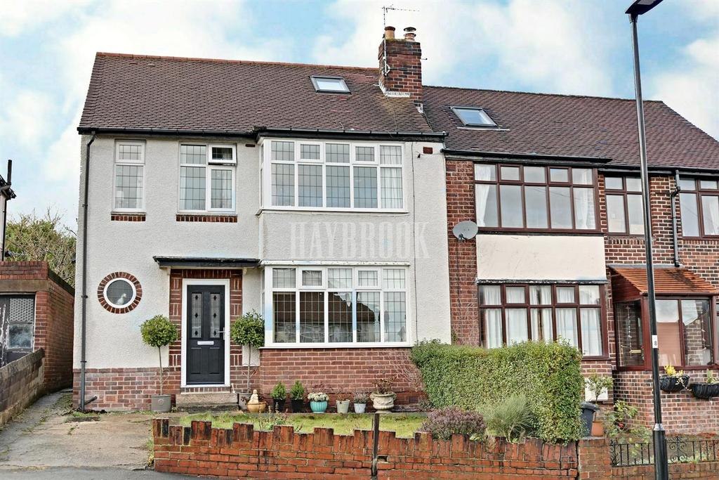 3 Bedrooms Semi Detached House for sale in High Storrs Rise, High Storrs, S11 7LB