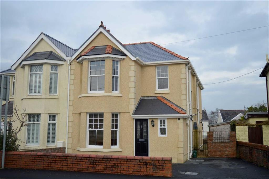 3 Bedrooms Semi Detached House for sale in Cecil Road, Gowerton, Swansea