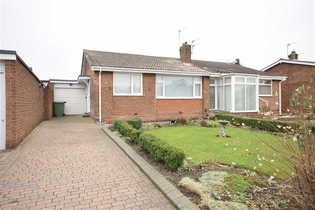 2 Bedrooms Semi Detached Bungalow for sale in Glamis Court, South Shields
