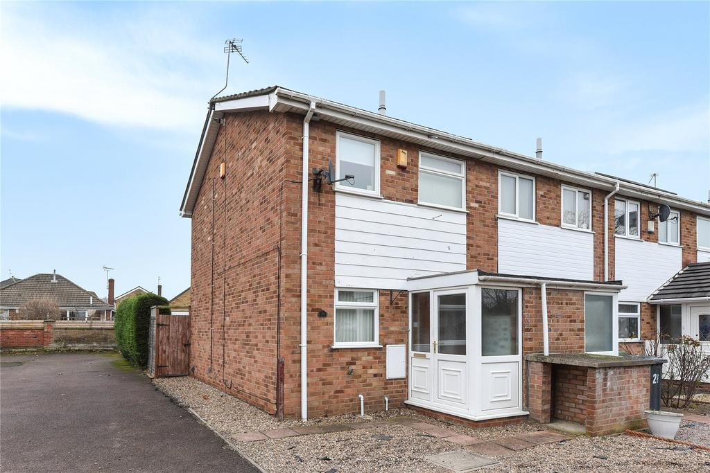 2 Bedrooms End Of Terrace House for sale in Middlebrook Road, Lincoln, LN6