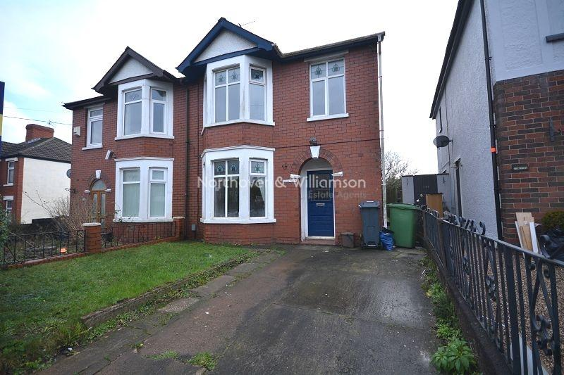 4 Bedrooms Semi Detached House for sale in Wentloog Road, Rumney, Cardiff, Cardiff. CF3