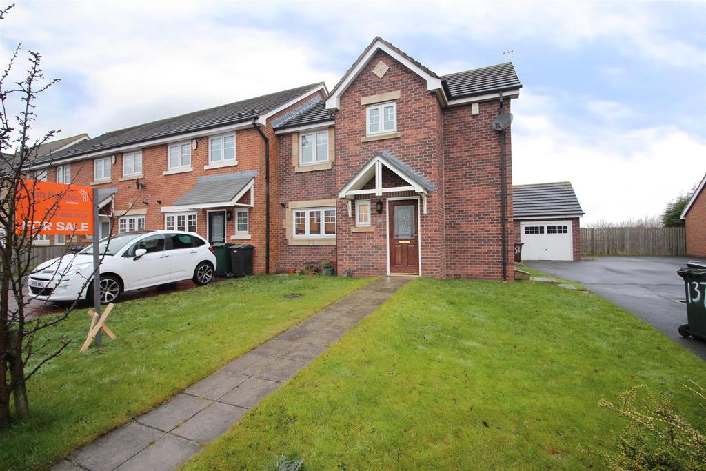 3 Bedrooms End Of Terrace House for sale in Forest Gate, Forest Hall, Newcastle Upon Tyne