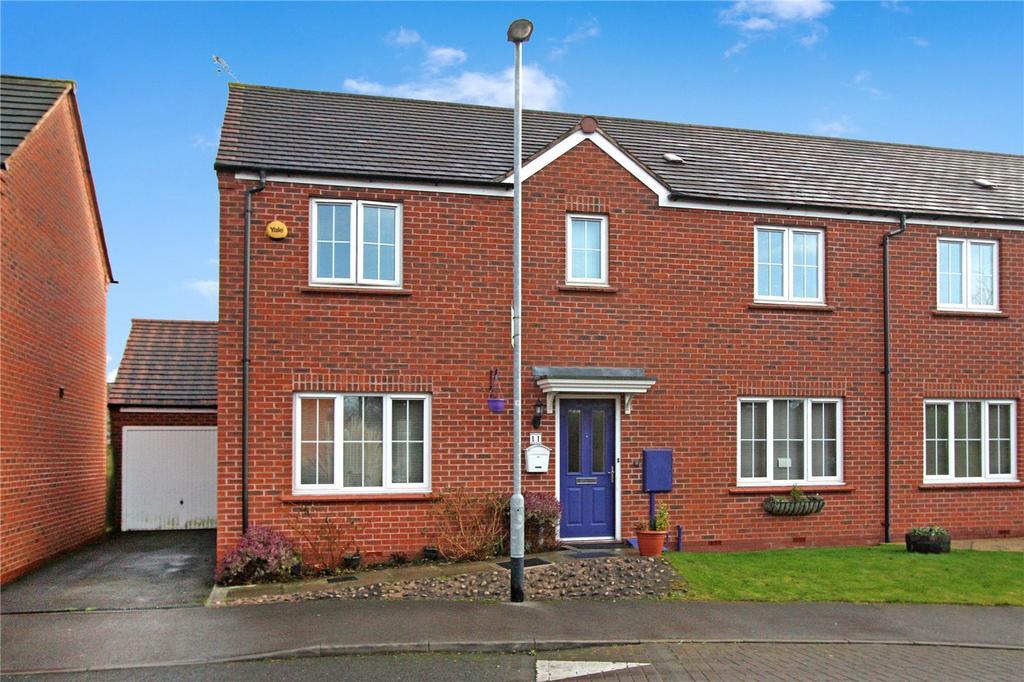 4 Bedrooms Semi Detached House for sale in Old Station Drive, Ruddington, Nottingham, NG11