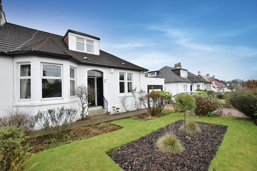 4 Bedrooms Semi Detached Bungalow for sale in 16 Kessington Drive, Bearsden, G61 2HG