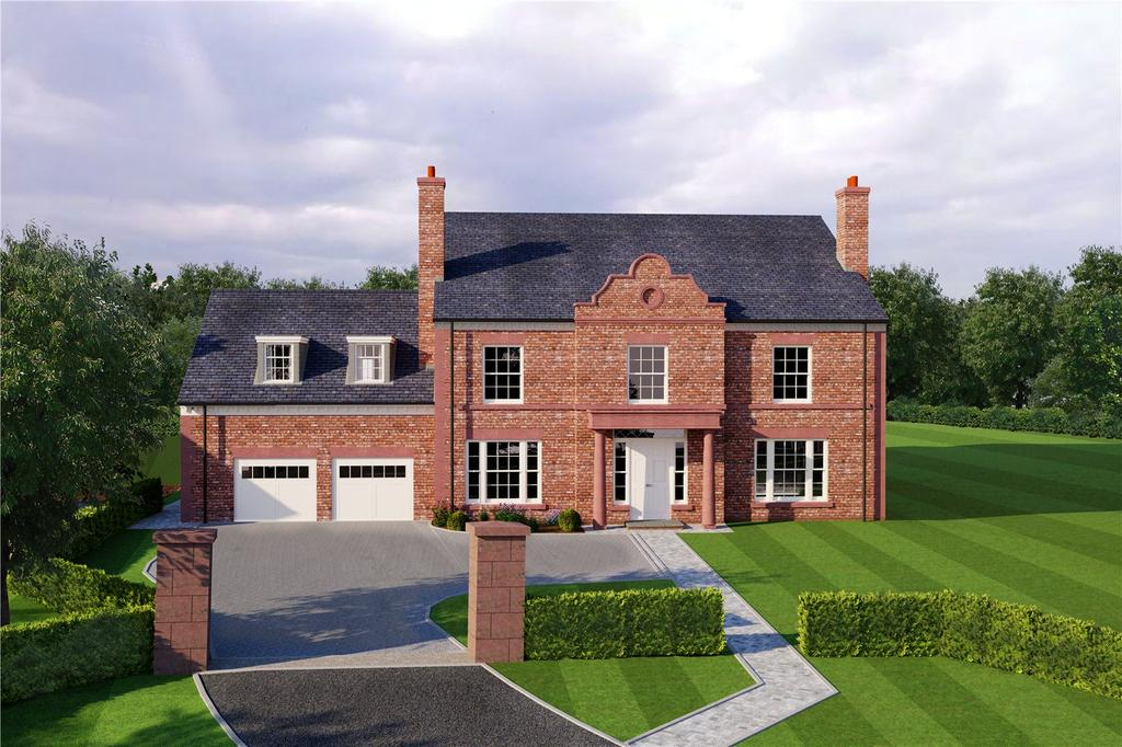 4 Bedrooms Detached House for sale in Eaton Lane, Eaton, Cheshire, CW6