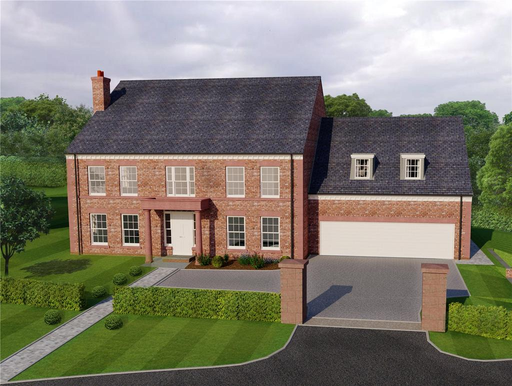 5 Bedrooms Detached House for sale in Willow House, Eaton Green, Eaton Lane, Eaton, Cheshire, CW6