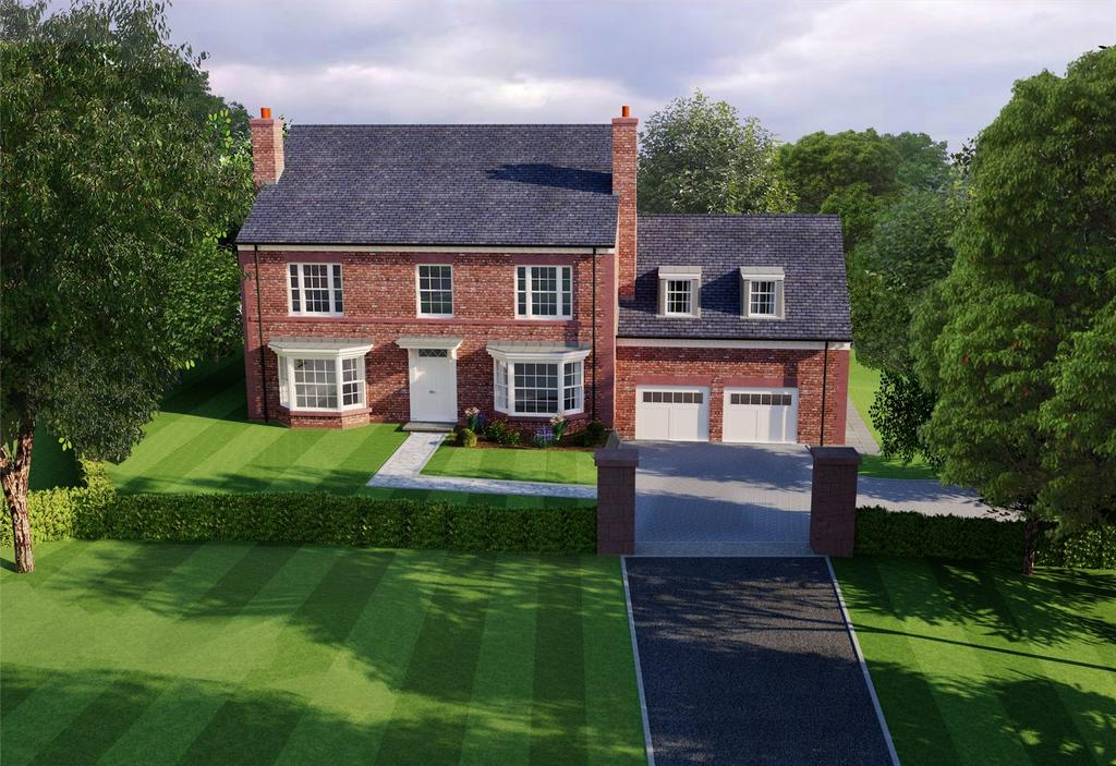 5 Bedrooms Detached House for sale in Eaton Lane, Eaton, Cheshire, CW6