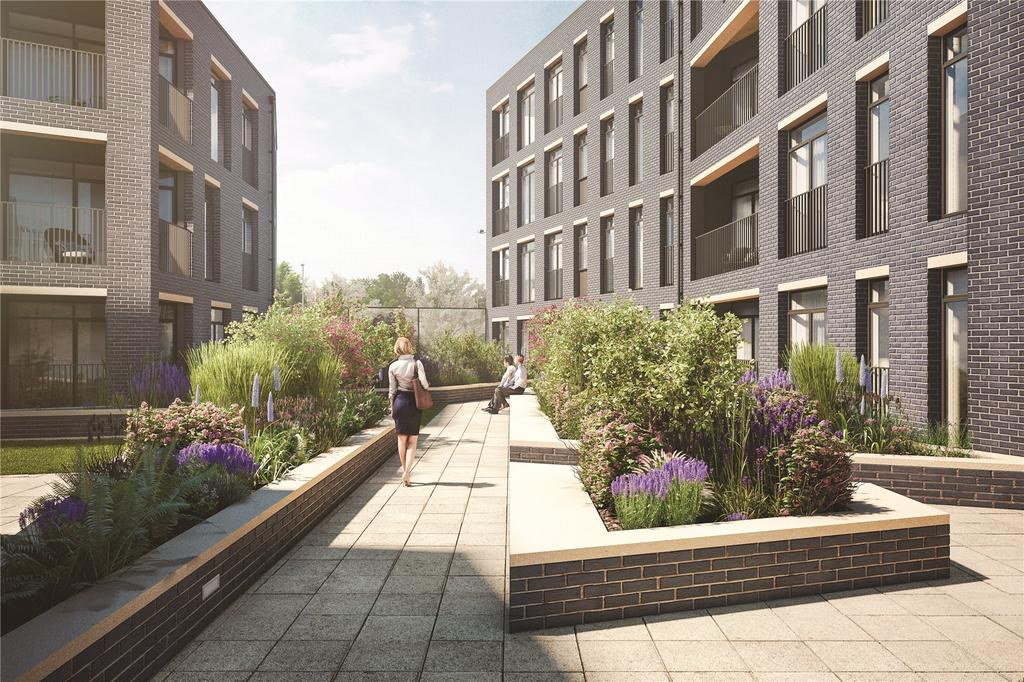 2 Bedrooms Flat for sale in Plot 62, Mosaics, Headington, Oxford, OX3