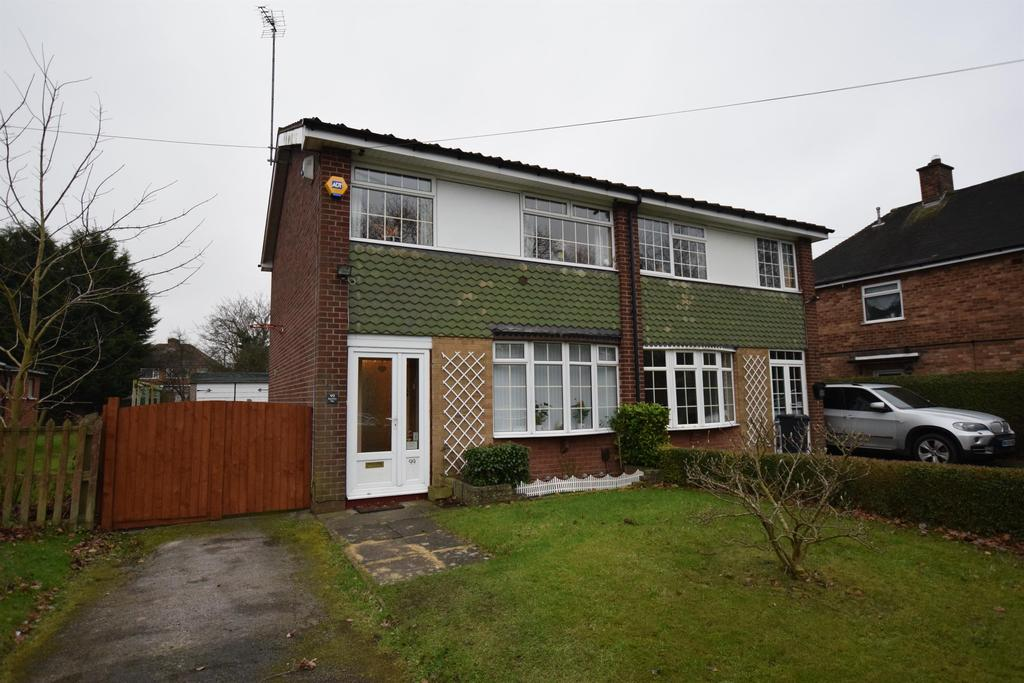 3 Bedrooms Semi Detached House for sale in Brackleys Way, Solihull, B92 8QE