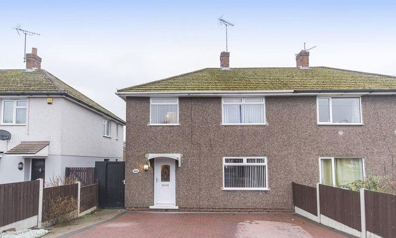 3 Bedrooms Semi Detached House for sale in Wood Road, Derby