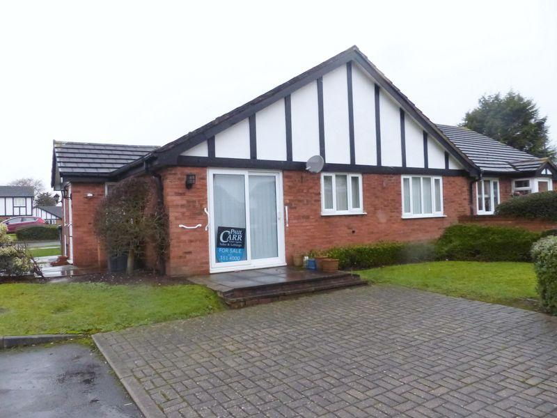 1 Bedroom Semi Detached Bungalow for sale in Hargreave Close, Sutton Coldfield