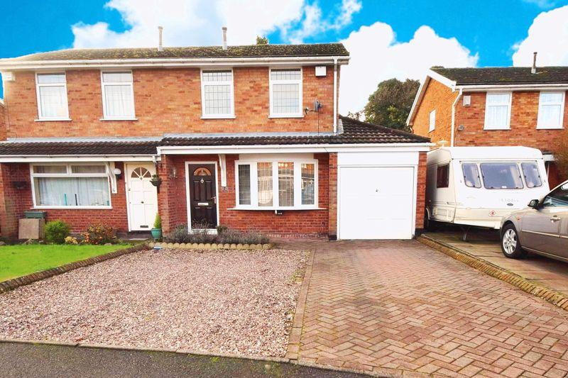 3 Bedrooms Semi Detached House for sale in Eagle Close, Staffordshire