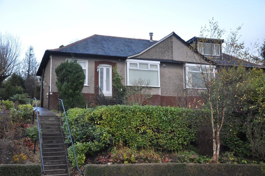 3 Bedrooms Semi Detached Bungalow for sale in Merrylee Park Avenue, Giffnock, Glasgow, G46
