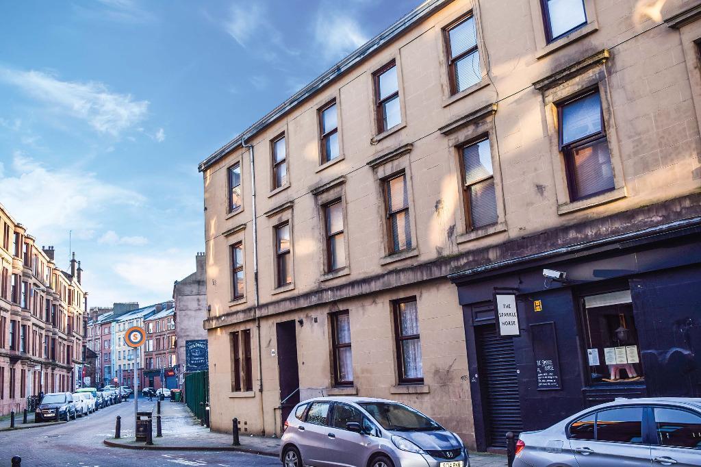1 Bedroom Flat for sale in Dalcross Street, Flat 14, Partick, Glasgow, G11 5RE