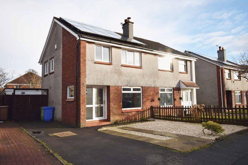 3 Bedrooms Semi-detached Villa House for sale in 38 Colonsay Place,Kilmarnock, KA3 2JU