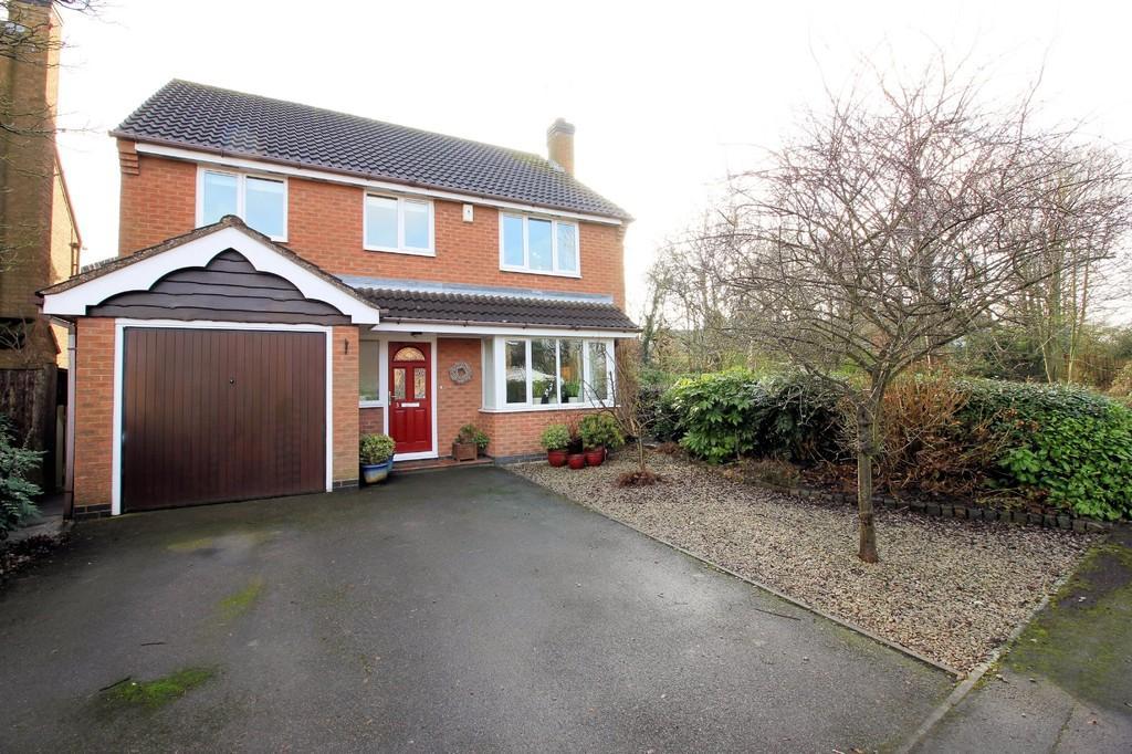 4 Bedrooms Detached House for sale in Lockton Close, Ashby-de-la-Zouch