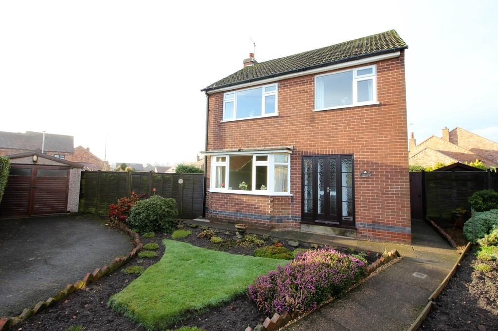 3 Bedrooms Detached House for sale in Rowena Drive, Ashby-de-la-Zouch