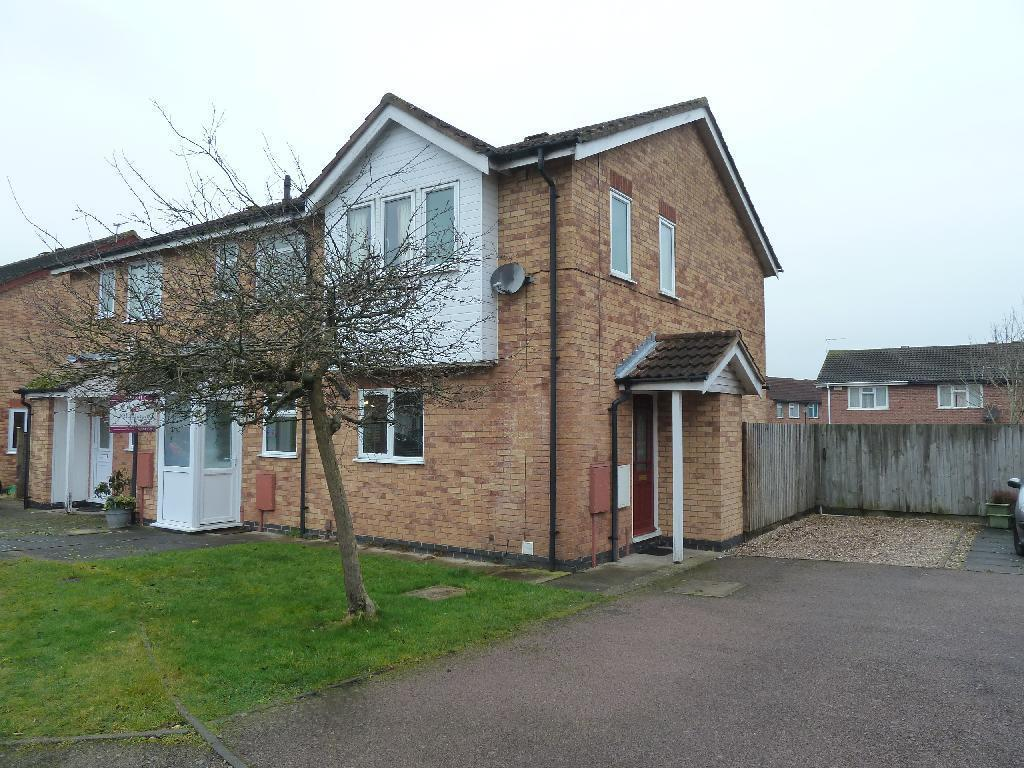 2 Bedrooms Town House for sale in Lodge Close, Melton Mowbray