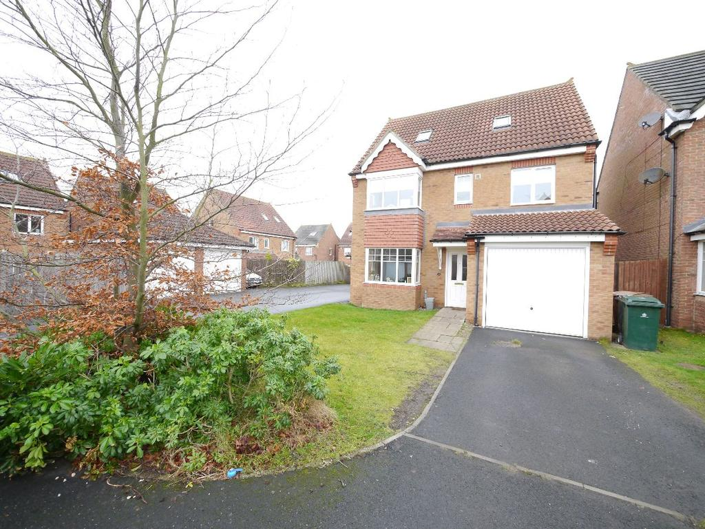 5 Bedrooms Detached House for sale in The Limes, West Moor
