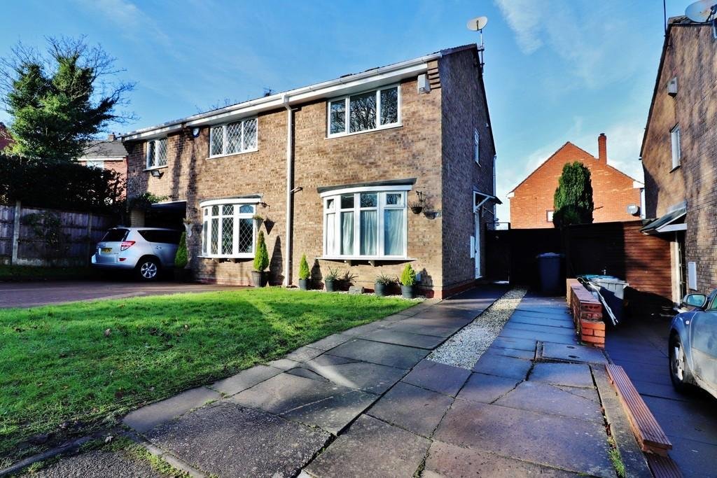 2 Bedrooms Semi Detached House for sale in Nightingale, Wilnecote