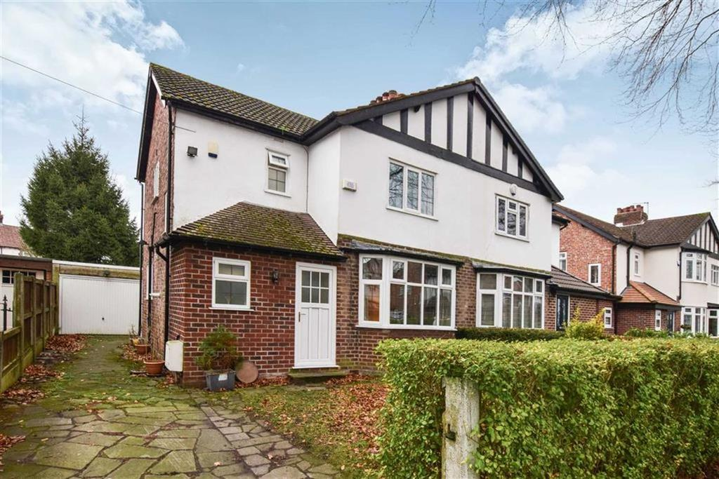 3 Bedrooms Semi Detached House for sale in Foxhall Road, Timperley, Altrincham, WA15