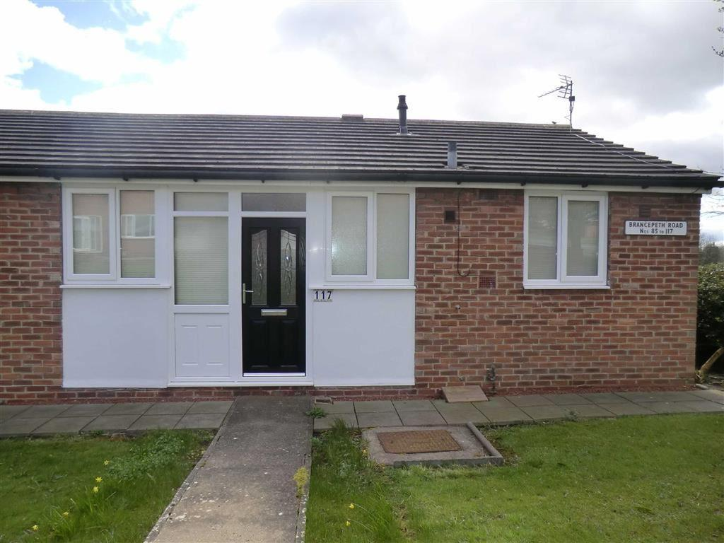 2 Bedrooms Semi Detached Bungalow for sale in 117, Brancepeth Road, Ferryhill