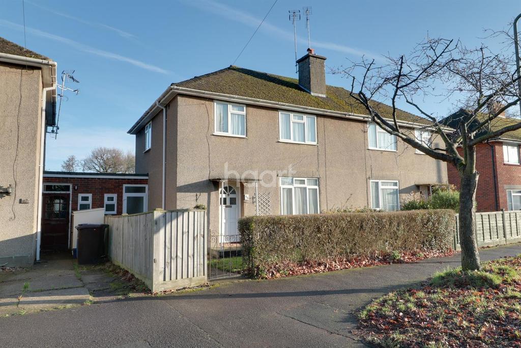 3 Bedrooms Semi Detached House for sale in Birchett Road, Farnborough