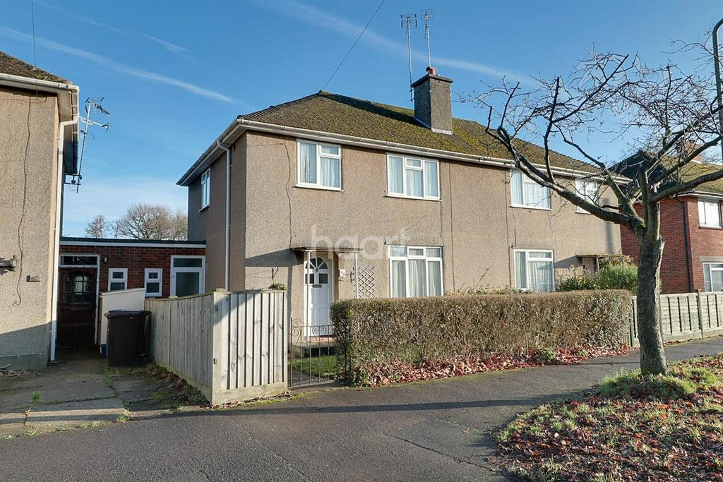 3 Bedrooms Semi Detached House for sale in Birchett Road, Farnborough