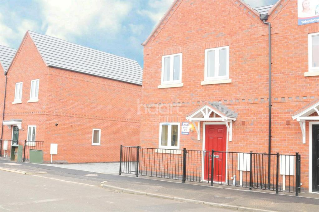 3 Bedrooms Semi Detached House for sale in Windmill Road, Loughborough