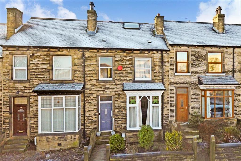 3 Bedrooms Terraced House for sale in Thornhill Avenue, Lindley, Huddersfield, HD3