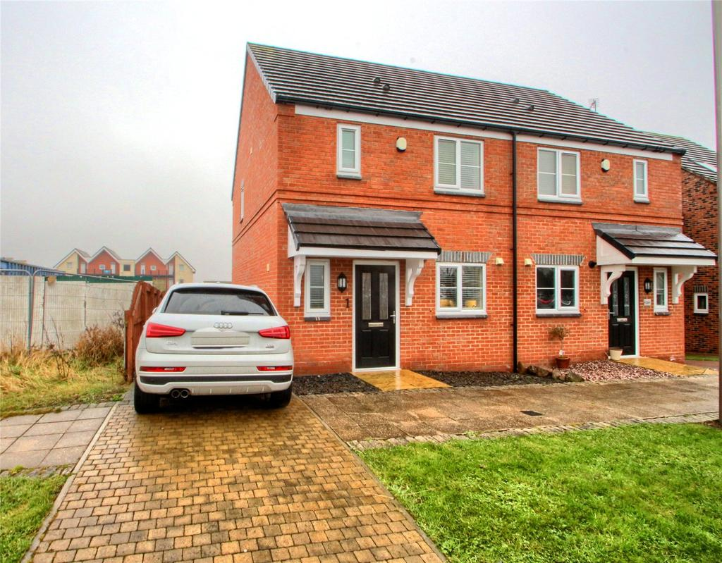3 Bedrooms Semi Detached House for sale in Brooklime Avenue, Stockton-On-Tees