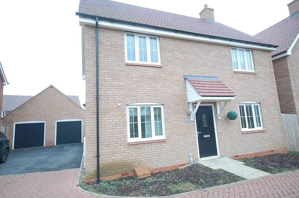 3 Bedrooms Detached House for sale in Weavers Mead, Wyre Close, Desborough, Kettering