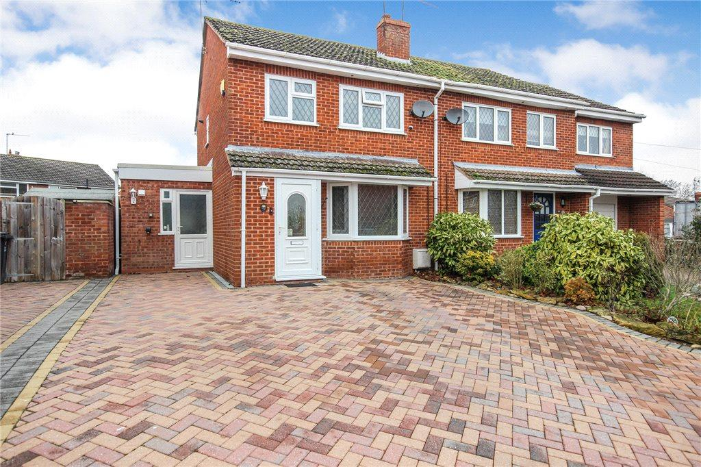 3 Bedrooms Semi Detached House for sale in Beech Avenue, Drakes Broughton, Pershore, Worcestershire, WR10