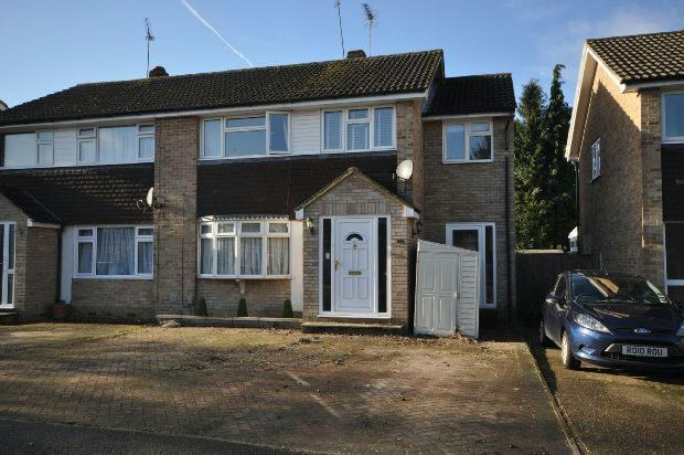 4 Bedrooms Semi Detached House for sale in Bodmin Road, Woodley, Reading,