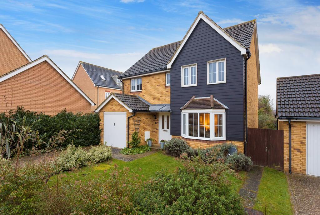 4 Bedrooms Detached House for sale in Collard Place, Hawkinge, Folkestone, CT18