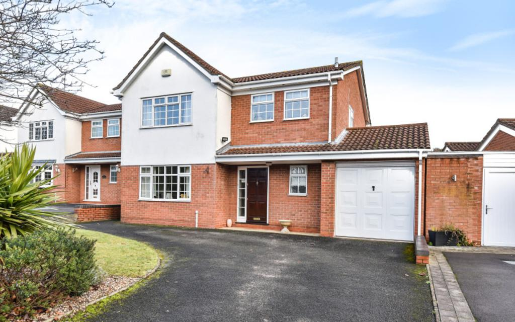 4 Bedrooms Detached House for sale in Stapenhall Road, Monkspath