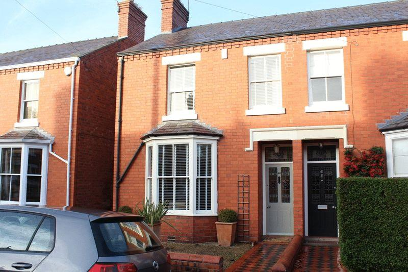 2 Bedrooms Semi Detached House for sale in Bishop Street, Cherry Orchard, Shrewsbury, SY2 5HB