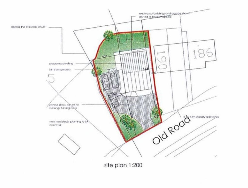 Land Commercial for sale in Old Road, Bignall End