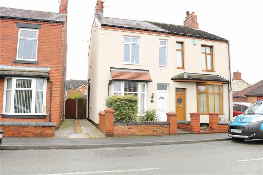 3 Bedrooms Semi Detached House for sale in Broughton Road, Coppenhall, Crewe