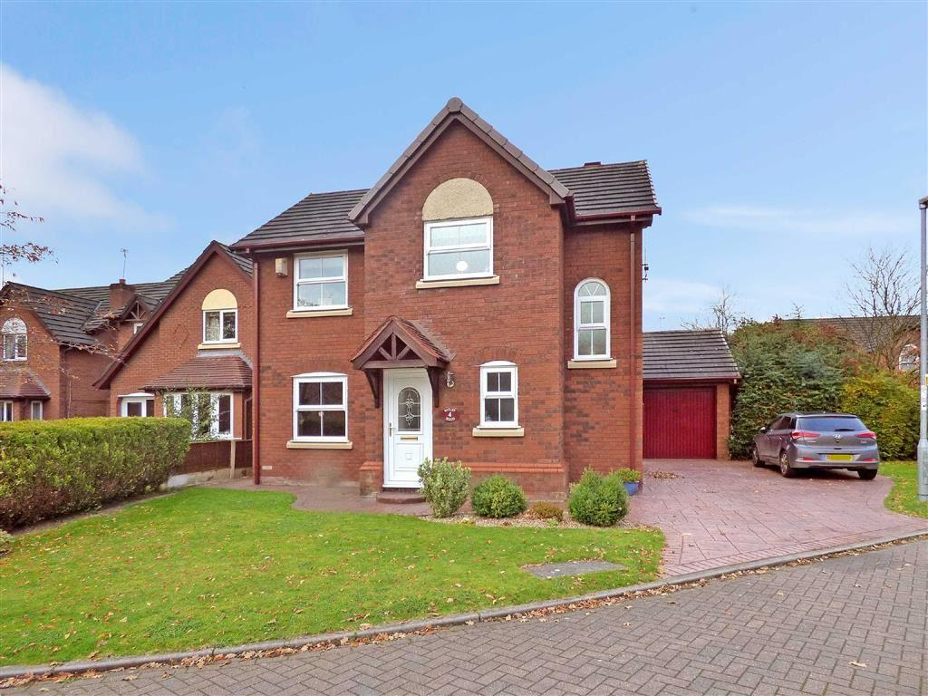 3 Bedrooms Detached House for sale in Barleywood Close, Wistaston, Crewe