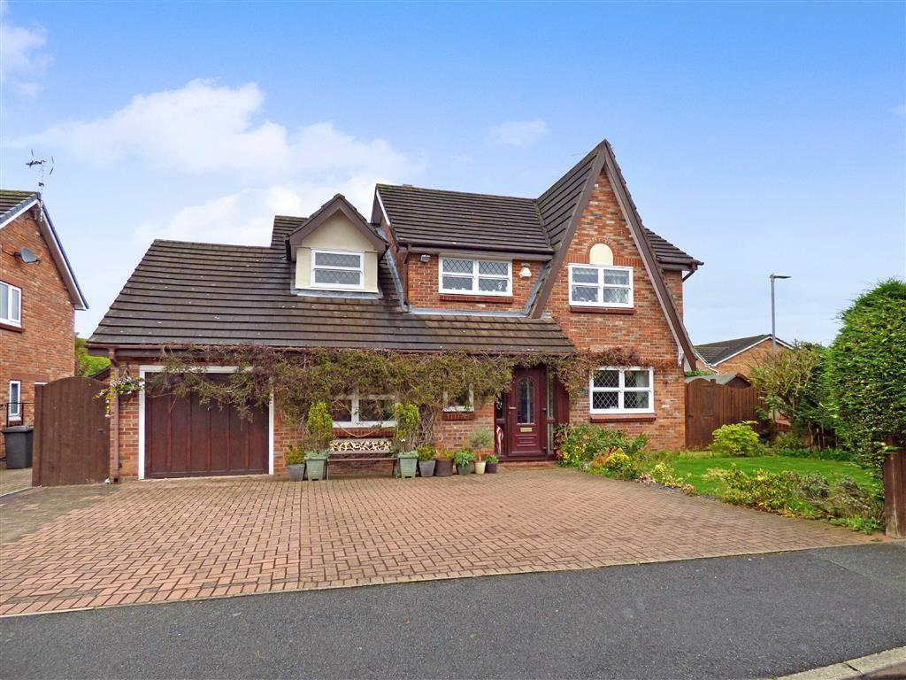 4 Bedrooms Detached House for sale in Millrace Drive, Wistaston, Crewe