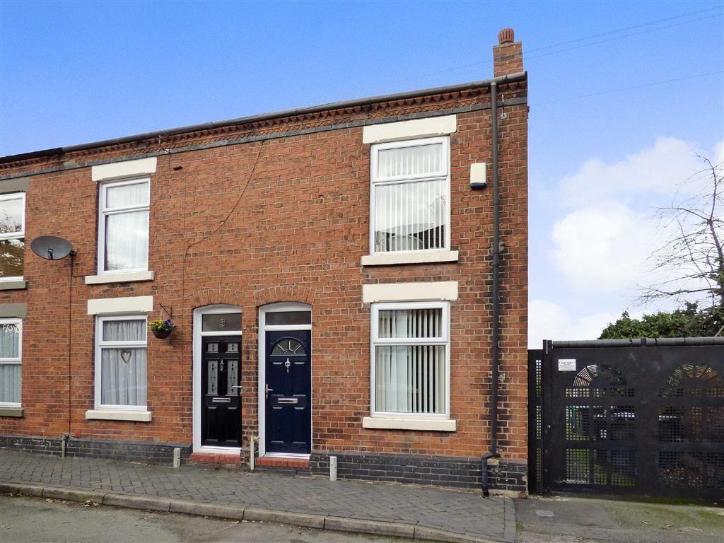 2 Bedrooms End Of Terrace House for sale in Roebuck Street, Crewe