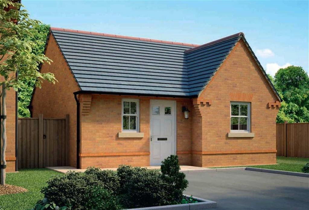 1 Bedroom Detached Bungalow for sale in Meadow View, Maw Green Road, Crewe