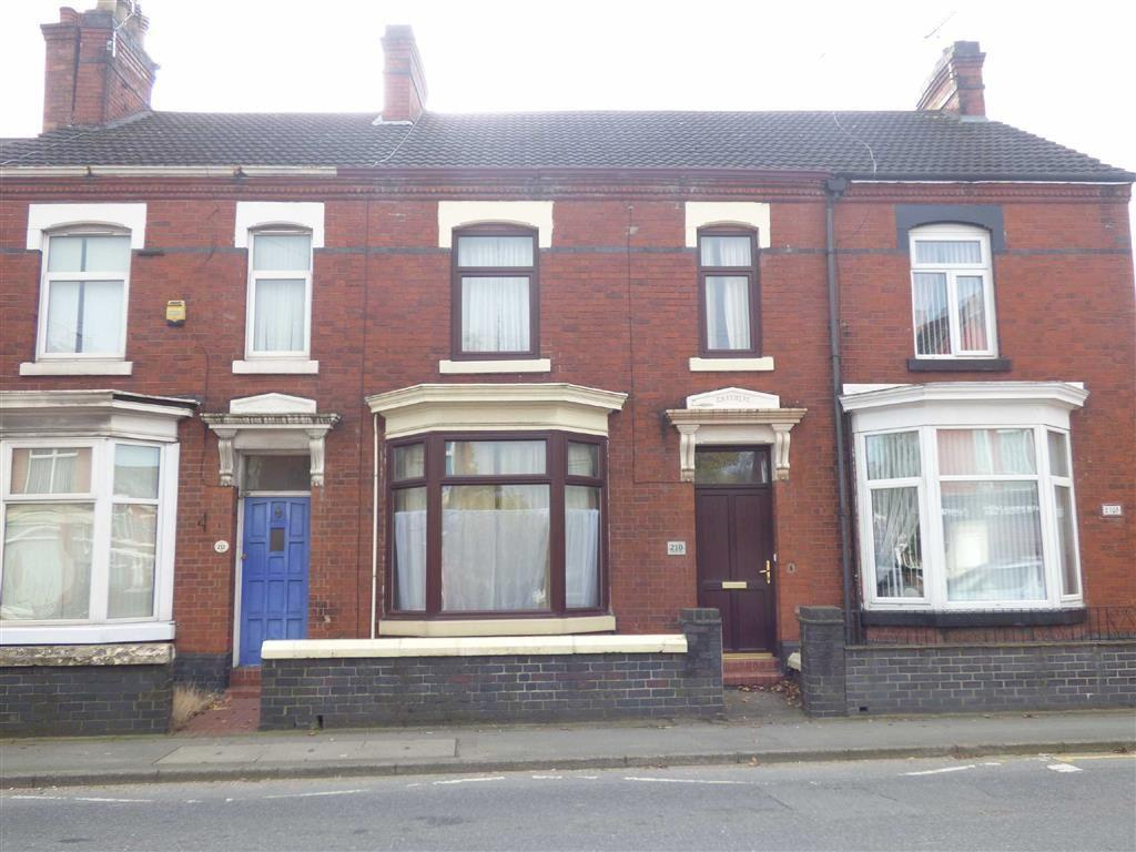 4 Bedrooms Terraced House for sale in Hungerford Road, Crewe