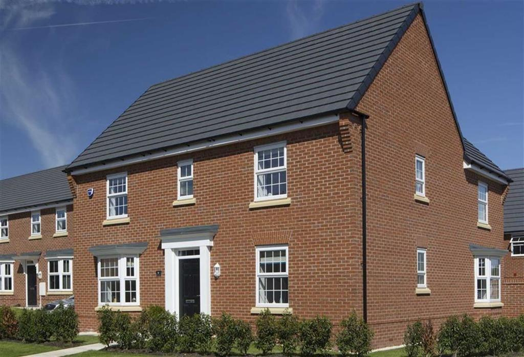4 Bedrooms Detached House for sale in Meadow View, Maw Green Road, Crewe
