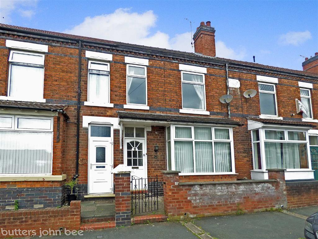 3 Bedrooms Terraced House for sale in Buxton Avenue, Crewe