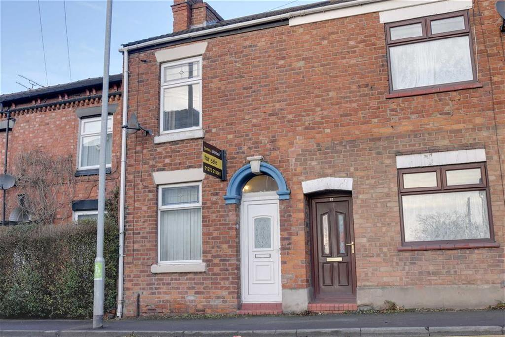 2 Bedrooms End Of Terrace House for sale in Wistaston Road, Crewe